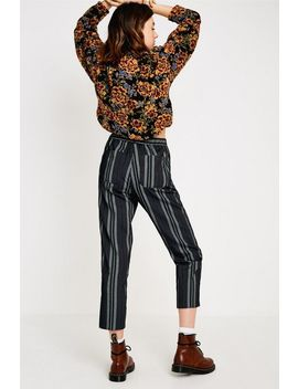 Uo Dana Chenille Stripe Pant by Urban Outfitters