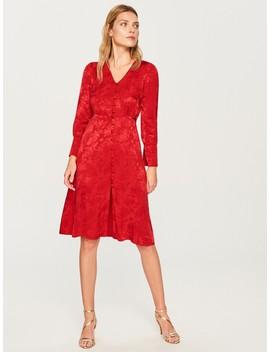 Kleid Mit Jacquardmuster by Reserved