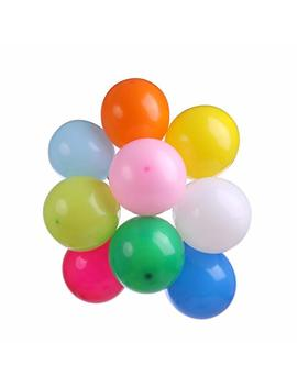 Assorted Latex Balloons 12 Inch 100pcs Premium Quality Balloons   Multi Color Helium Balloons Air Or Water Filled Perfect For Birthday Parties, Home Decor &... by Eslekker