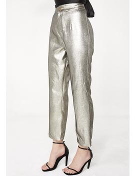 Shimmer Hepburn Pants by Show Me Your Mumu