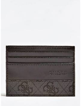 Leonardo Leather Card Case by Guess