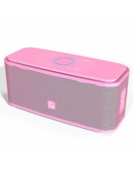 Doss Sound Box Bluetooth Speaker, Portable Wireless Bluetooth 4.0 Touch Speakers With 12 W Hd Sound And Bold Bass, Handsfree, 12 H Playtime For Phone, Tablet, Tv, Gift Ideas[Pink] by Doss