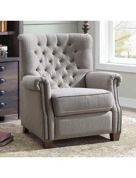 Better Homes And Garden Tufted Push Back Recliner by Better Homes & Gardens