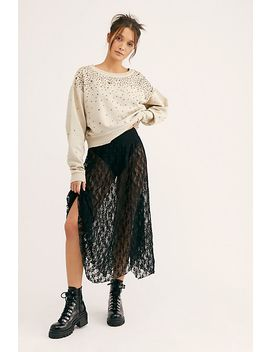 Electric Feels Half Slip by Free People