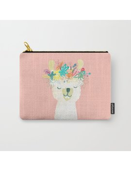 Llama Goddess Carry All Pouch by