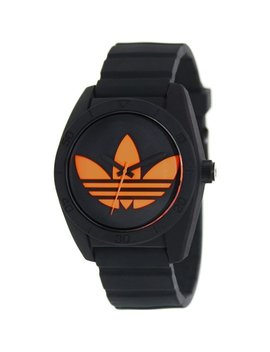 Adidas Watch Unisex Black Silicone Strap Adh2880 by Adidas
