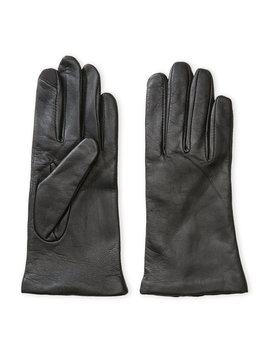 Leather Cashmere Lined Gloves by Fownes Brothers