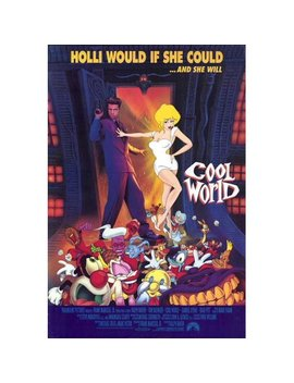 Cool World Poster Movie B (27x40) by Decorative Wall Poster