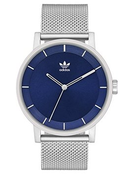 Adidas Watches District M1. Milanese Stainless Steel Bracelet, 20mm Width (40 Mm) by Adidas