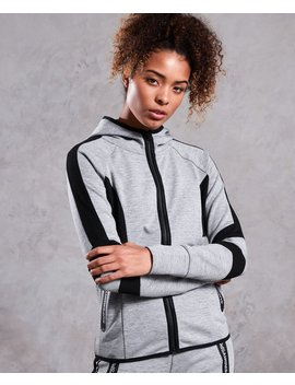 Core Gym Tech Panel Zip Hoodie by Superdry