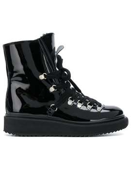 Alaska Fur Lined Boots by Kenzo
