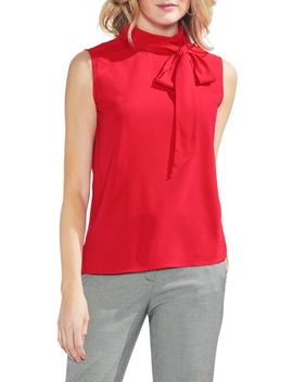 Tie Neck Blouse by Vince Camuto
