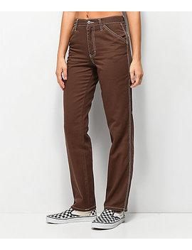 Dickies Carpenter Brown Pants by Dickies