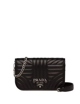 Small Diagramme Crossbody Bag by Prada