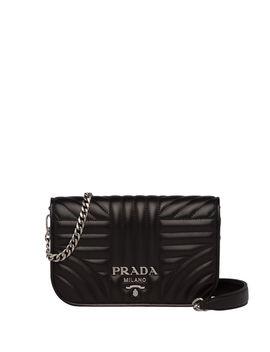 Small Diagramme Crossbody Bag by Prada