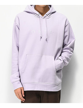 Obey Nouvelle Lilac Hoodie by Obey