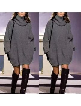 Women Long Sleeve Knitted Cardigan Loose Sweater Outwear Coat Casual Sweater by Unbranded