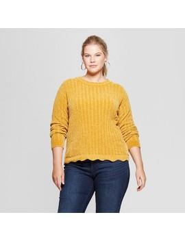 Women's Plus Size Chenille Pullover   Ava & Viv™ by Ava & Viv