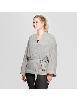 Women's Plus Size Wrap Cardigan   Ava &Amp; Viv™ by Ava & Viv