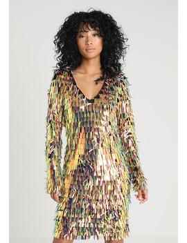 Plunge Neck Tassel Bodycon Dress   Cocktailkleid/Festliches Kleid by Club L London