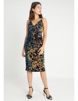 Sequin Cami Midi Bodycon Dress   Cocktailkleid/Festliches Kleid by Club L London
