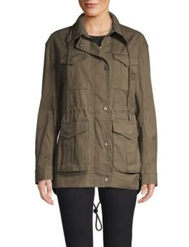 Enzyme Wash Utilitarian Field Jacket by Atm Anthony Thomas Melillo