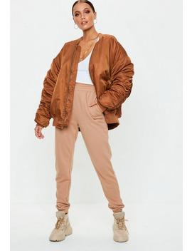 Rust Bomber Jacket by Missguided