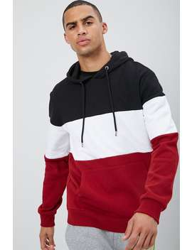 Contrast Colorblock Hoodie by Forever 21