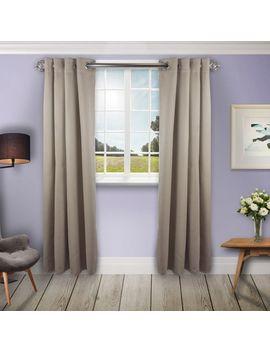 """Beige Room Darkening 52"""" Curtain by Pier1 Imports"""