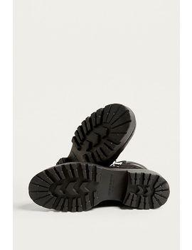 Vagabond Kenova Black Suede Hiker Boots by Vagabond