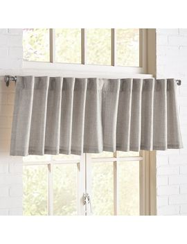 Shimmer Silver Valance by Pier1 Imports
