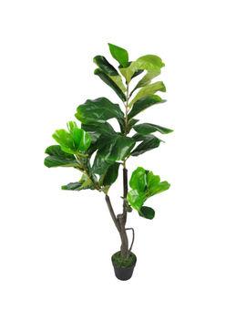 Leaf Design Large Artificial Fiddle Fig Tree Ficus Lyrata Plant 90 120cm 3ft 4ft by Ebay Seller