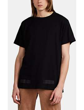 Logo Box Fine Gauge Cotton T Shirt by Off White C/O Virgil Abloh