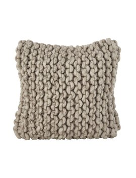 Greyleigh Boykins Chunky Cable Knit Wool Throw Pillow & Reviews by Greyleigh