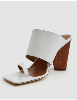Maria Leather Heeled Sandal by Rejina Pyo