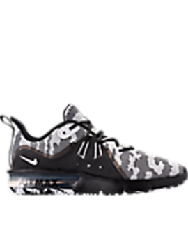 Men's Nike Air Max Sequent 3 Premium Camo Running Shoes by Nike