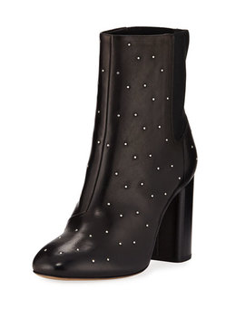 Agnes Studded Leather Ankle Boots by Rag & Bone