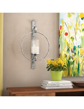 Alcott Hill Metal Sconce & Reviews by Alcott Hill