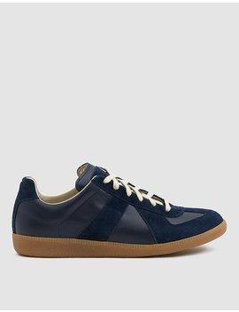 Replica Luxury Trainer In Dark Blue by Maison Margiela