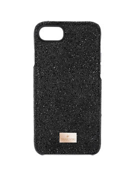 High Smartphone Case With Bumper, I Phone® 8, Black by Swarovski