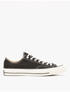 Chuck Taylor All Star '70 Low Sneaker In Black by Converse