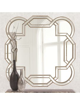 Mercer41 Geometric Wall Mirror & Reviews by Mercer41