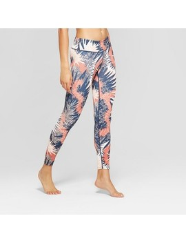 Women's Comfort Printed 7/8 Mid   Rise Leggings   Joy Lab™ by Joy Lab