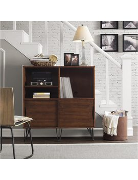 Carson Carrington Clarence Media Bookshelf Console by Carson Carrington