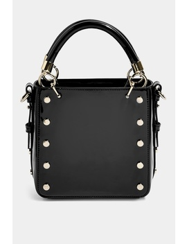 Courtney Stud Cross Body Bag by Topshop