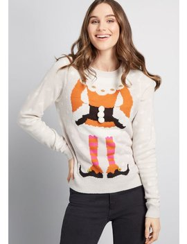 Speak For Your Elf Sweater by Modcloth