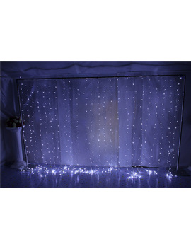 3 X6 M 110 V/220 V 600 Led  String Lights For Wedding Event&Party&Backdrop Curtain Decoration(Lycra Chair Cover/Bands/Sashes) by Ali Express