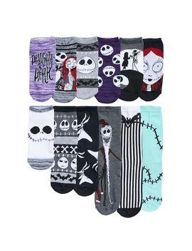 Disney's The Nightmare Before Christmas Women's 12 Days Of Socks Advent Calendar Set by Kohl's