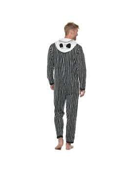 """Men's """"The Nightmare Before Christmas"""" Jack Skellington Hooded Union Suit by Kohl's"""