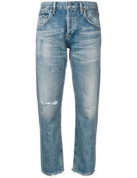 Straight Leg Distressed Jeans by Citizens Of Humanity